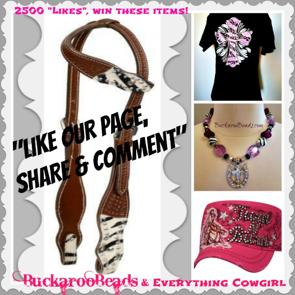Buckaroo Beads FaceBook Give-Away