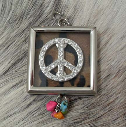 Pendant 2-sided Peace
