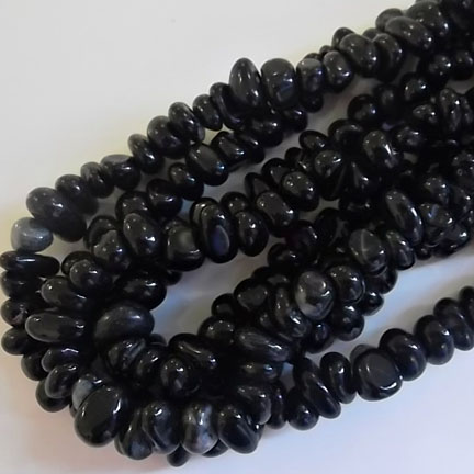 Black Agate nuggets