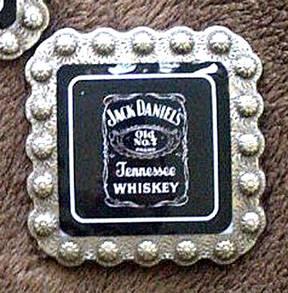 Jack Daniels Rhinestone Concho