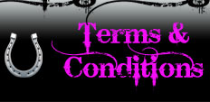 Terms, Conditions & Shipping