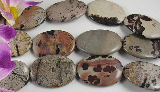 25mm x 35mm red Leopard skin Jasper