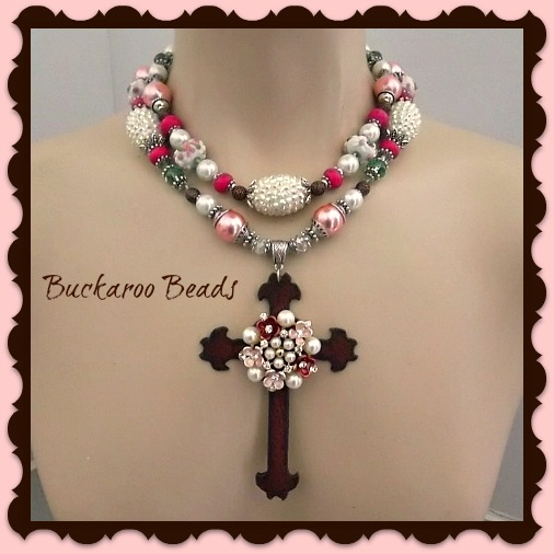 Cowgirl Floral Faith Necklace