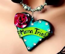 MaMa Tried Handmade Heart Pendant
