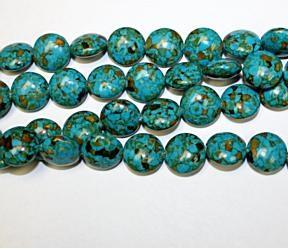 Mosaic turquoise 18mm