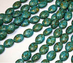 Mosaic Blue Turquoise 20 mm