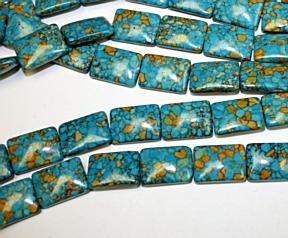 Mosaic Blue Turquoise 25 mm