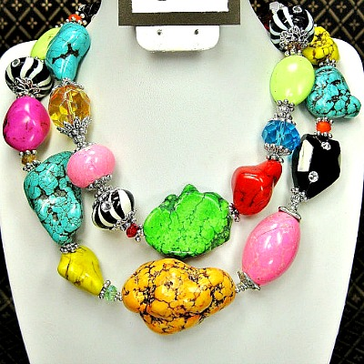 Razzle Dazzle Rodeo Cowgirl Necklace