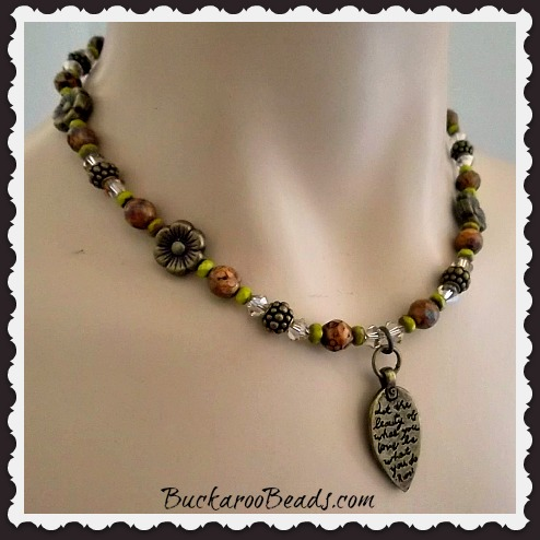The Beauty of What You Love Necklace
