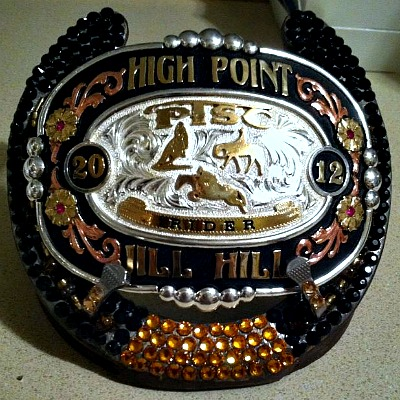 Custom Bling'n Trophy Buckle Holder