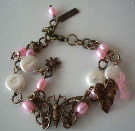 Vintaj Butterfly Bracelet