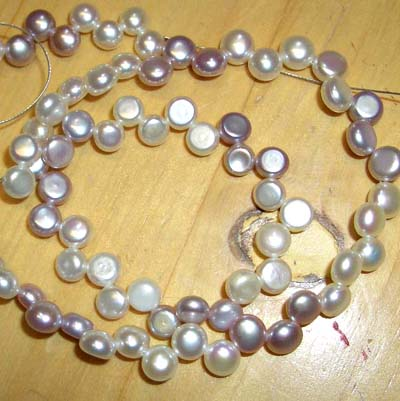 Cultivated Pearl Beads